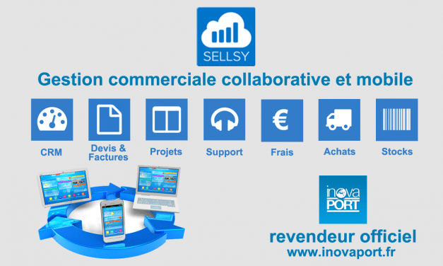 Sellsy, solution de gestion commerciale mobile et collaborative